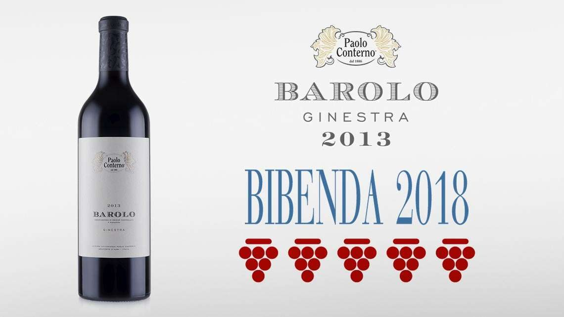 Barolo Ginestra 2013 Bibenda 2018